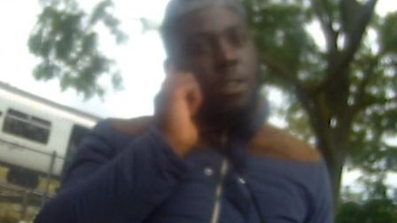 Do you recognise this man? Police would like to speak to him in connection with an assault on an pol