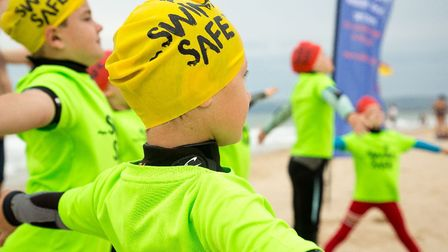 Free outdoor swimming sessions are to be held at Harwich beach Picture: RNLI