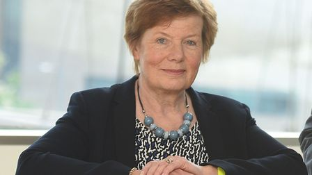 Cabinet member Mary Evans. Picture: GREGG BROWN
