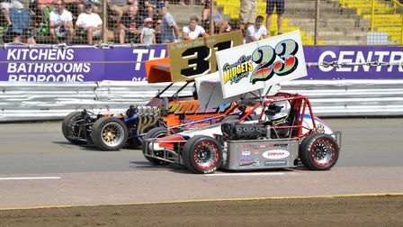 The Grand Prix Midgets will be racing at Foxhall on Bank Holiday Monday. Picture: DEAN COX