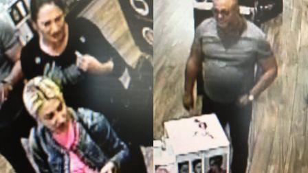 Police have released CCTV images following a perfume theft in High Chelmer Picutre: ESSEX POLICE