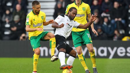 Derby's Cameron Jerome is being linked with a move to Ipswich Town. Picture: FOCUS IMAGES