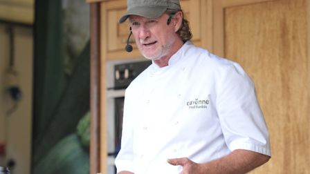 Paul Rankin gives a cooking masterclass Picture: SARAH LUCY BROWN