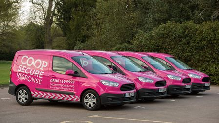 Co-op Secure Response fleet Picture: Anglia Picture Agency