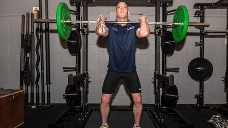 Ex rugby-pro Wez Pooley will be working with Nino Severino to help Suffolk's athletes. Picture: PAVE