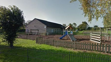The incident happened near the recration ground off Tye Green in Glemsford Picture: GOOGLE