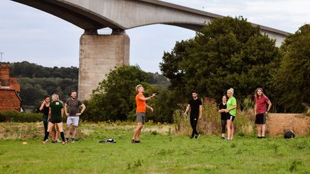 Get fit and healthy with Field Fit bootcamps at Suffolk Food Hall PICTURE: Jhivinie Rose