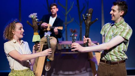 Stick Man is coming to the Theatre Royal in Bury St Edmunds Picture: PAUL BLAKEMORE
