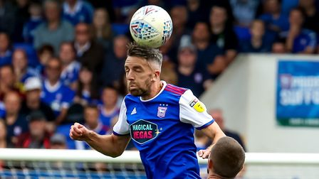 Cole Skuse is a doubt for Sunday's game with Norwich City. Picture: STEVE WALLER WWW.STEPHENWAL