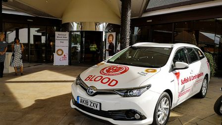 The SERV SC groups new blood car is already being put to good use Picture: SERV SC