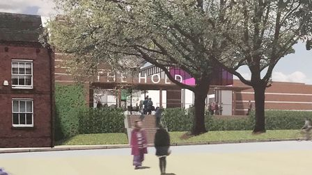 Artist's impression of The Hold, the new Suffolk Records' Office for Ipswich. Picture: SUFFOLK COUNT