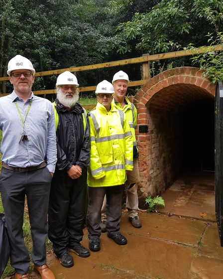 The volunteers have worked for almost five years to restore the Victorian building Picture: RACHEL E