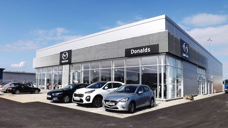 The new Donalds Mazda Ipswich showroom at Futura Park. Picture: Andy Russell