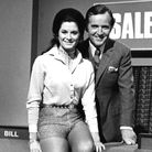 Nicholas Parsons and hostess Jennifer Cresswell, on Sale of The Century Picture: ARCHIVE