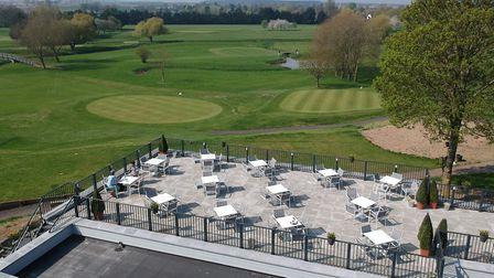 The hotel boasts a golf course, spa, gym, and restaurant Picture: ALL SAINTS HOTEL