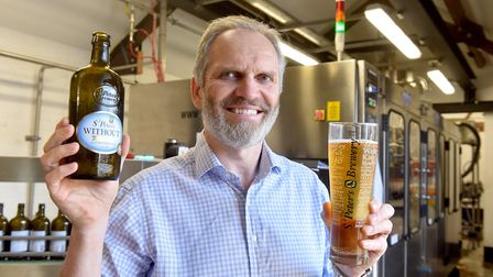 St Peter's Brewery CEO Steve Magnall. Picture: Nick Butcher