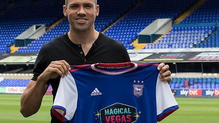 Jon Walters has returned to Ipswich Town on loan until January. Picture: ITFC