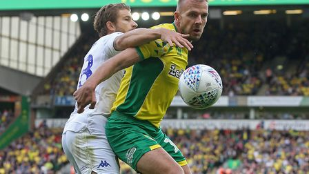 Former Ipswich Town youngster Jordan Rhodes is now at Norwich City. Photo: Focus Images