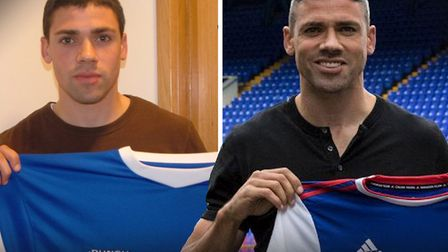 Jon Walters is back at Ipswich Town after first signing for the Blues in 2007. Picture: ITFC