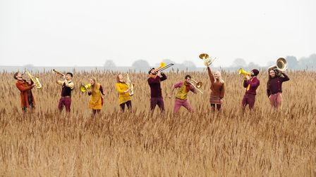 Perhaps Contraption, the self-styled �some sort of progressive brass band� will be playing in in de