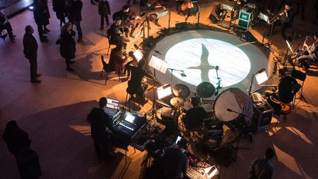 Propellor is a 13-piece cross-genre collective from backgrounds in free improvisation, folk, experim