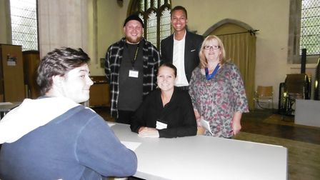 People from a wide range of careers and business took part in the Ip Switch jobs and careers event a