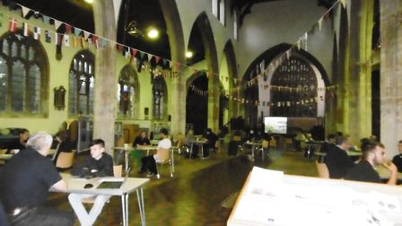 The Ip Switch business advice and careers event held at St Mary's Church, Hadleigh.