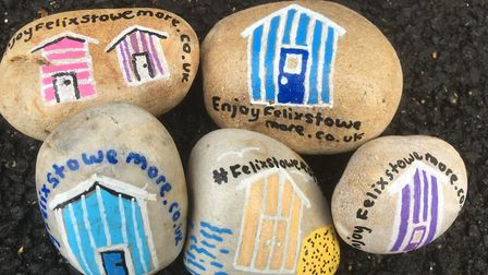 Each stone will be worth �50 to the finder Picture: ARCHANT
