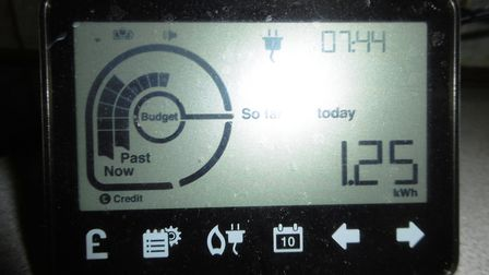 A smart meter - monitoring energy use at home