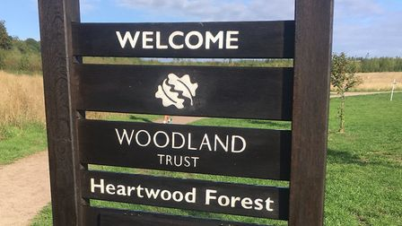 Heartwood Forest, the home of the Heartwood Forest parkrun. The event will be disbanded in five week