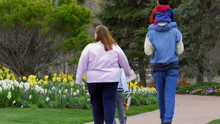 A survey has revealed 29% of Suffolk adults do not walk for ten consecutive minutes a week Picture:
