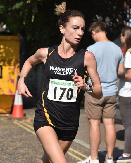 Sam Lines was the fastest woman at the event Picture: PHILIP DONLAN