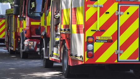 Fire crews were called to a Clacton property (stock image) Picture: SARAH LUCY BROWN