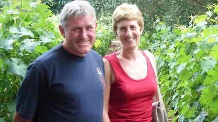 David and Rita Wood during a family holiday in New Zealand. Picture: WOOD FAMILY