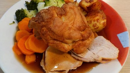 Roast turkey and trimmings Picture: Archant