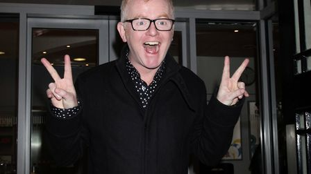 Chris Evans arriving at Western House in central London, to host his first BBC Radio 2 breakfast sho