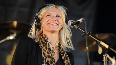 Jo Whiley, seen here performing a set at Jimmy's Farm in 2010 - will she be in the running for Chris