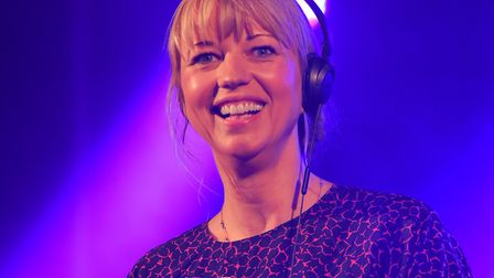 DJ Set by Sara Cox at Yarmouth Racecourse in July 2017. Picture: James Bass Photography