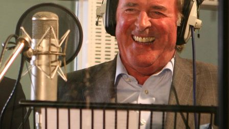 Sir Terry Wogan, who announced he was stepping down from his BBC Radio 2 breakfast show in December