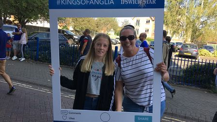 Did we snap you holding our #KingsOfAnglia Instagram board? Picture: ARCHANT