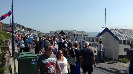 Art on the Prom is an annual event Picture: LAURA BEARDSELL-MOORE