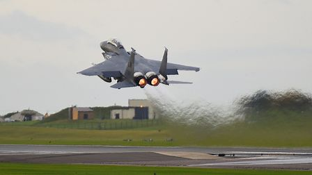 Concerns have been raised that the homes would be beneath the military aircraft route to and from RA