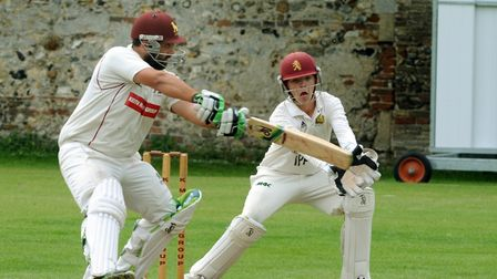 Ben Reece, who scored 37 at No. 8 for Sudbury, althoygh it wasn't enough to avoid defeat at Mildenha
