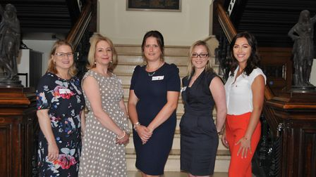Ladies in Property Suffolk are planning another networking event. L-R: Joy Burnford (My Confiden