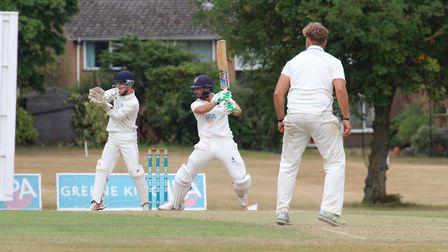 Jaik Mickleburgh, who scored 70 for Suffolk in their second innings against Cambridgeshire. Picture: