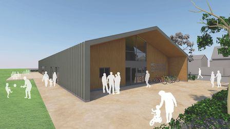 Plans have been submitted to Suffolk Coastal District Council for planning permission for a new �1.