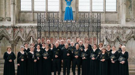 The Suffolk Singers performing in Ely earlier this year Picture: JAMES BILLINGS