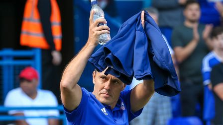Ipswich Town boss Paul Hurst has brought 12 new faces to the club. Picture: STEVE WALLER