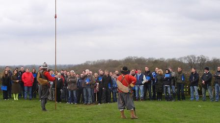 Brother UK at Naseby Battlefield