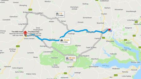 One family has been forced to make their own way from Ipswich to Sudbury on a daily basis Picture: G